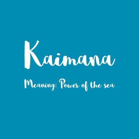 17+ Boy names hawaiian meanings information