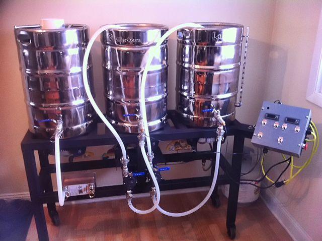 Homebrew Stand Brewery Beer Brewing Beer Brewing Kits