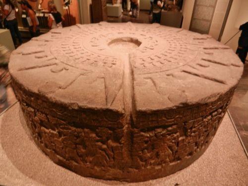 tlatollotl: Aztec sacrificial stone of Tizoc - thought to have...
