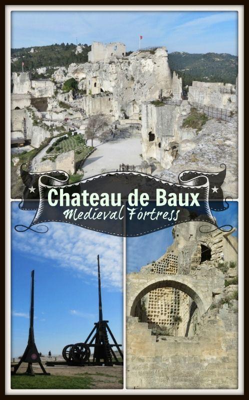 Château De Baux Medieval Fortress Postcards Passports Paris France Travel France Travel Medieval Fortress
