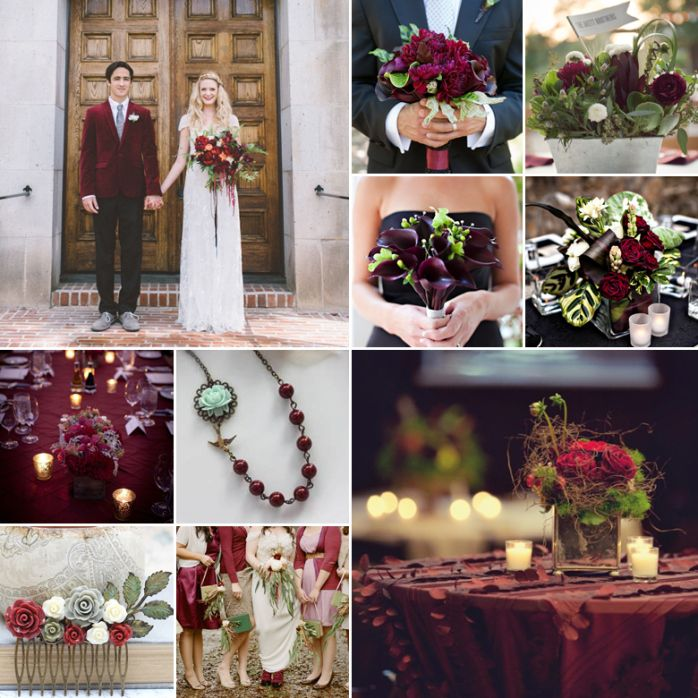Green And Burgundy Weddings Green And Burgundy Wedding Burgundy Wedding Colors Olive Green Weddings
