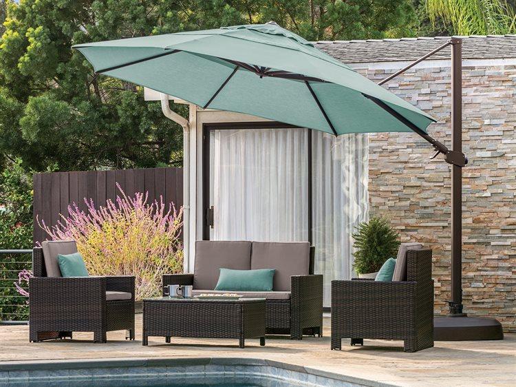 Treasure Garden 11 Ag25tr Octagon Cantilever Umbrella Ag25tr In 2020 Best Patio Umbrella Large Patio Umbrellas Patio Umbrellas
