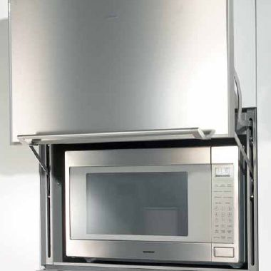A Solution To The Dreaded Problem Of Where Put Microwave From Gaggenau