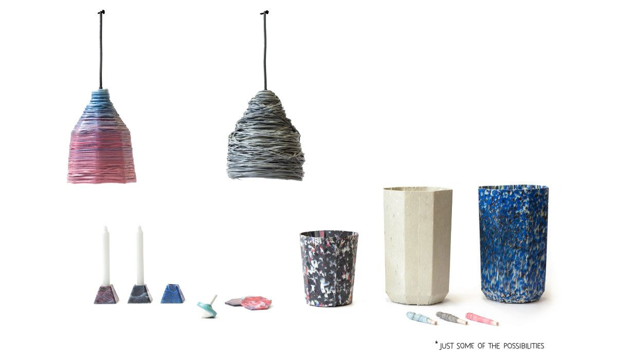 A Project By Dave Hakkens Recycling Machines Recycled Plastic