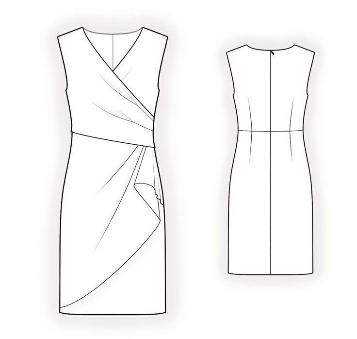 free pattern for dress to download draped - Αναζήτηση Google ...