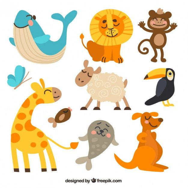 Download Funny Animal Collection For Free Cute Animals Animal Clipart Cartoon Animals