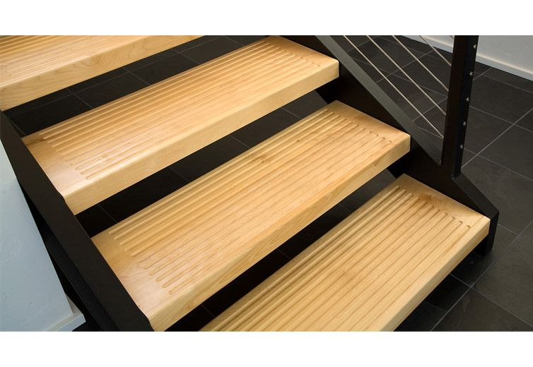 Best Detail Interior View Of The Stair Treads Modern 400 x 300