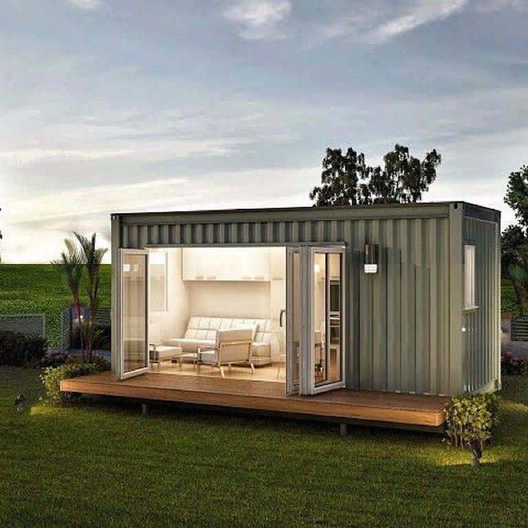10 Wonderful Shipping Container Homes From Around The World Homedecor Container Homeideas Container Van House Shipping Container Container House