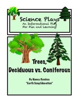 Trees A Fun Informational And Interactive Play Deciduous Vs