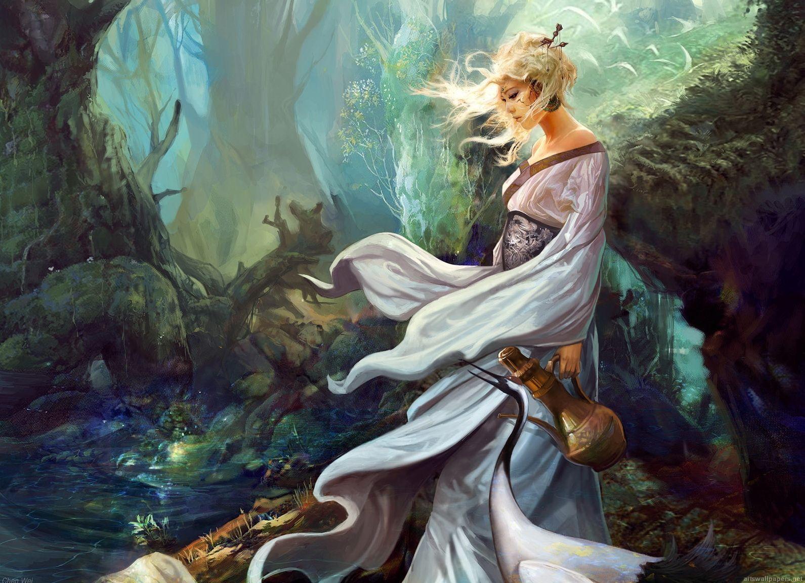 fantasy   Fantasy Wallpapers, Girls, CG, Art, Fantasy Creatures Wallpapers ...