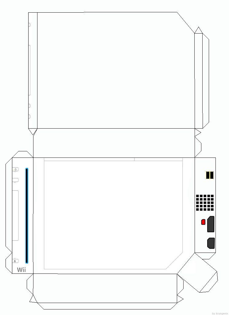papercraft Jetlogsorg » Wii Papercraft Template File under