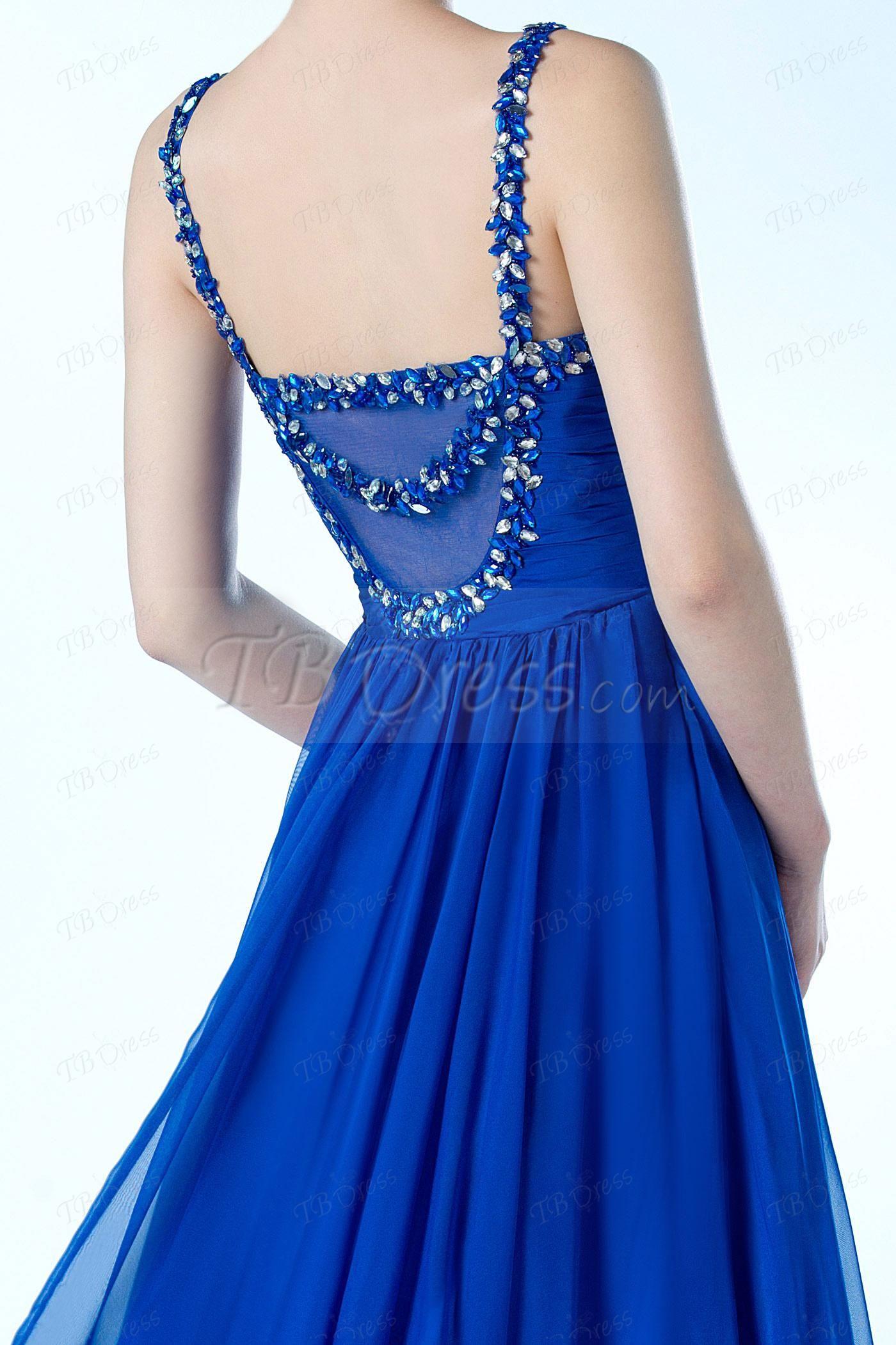 Vogue Sweetheart Neckline A-Line Floor Length Beading Evening dress