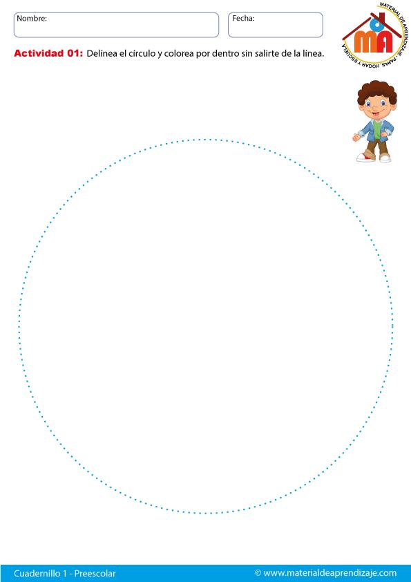 Ficha-01 el círculo | matemática | Pinterest