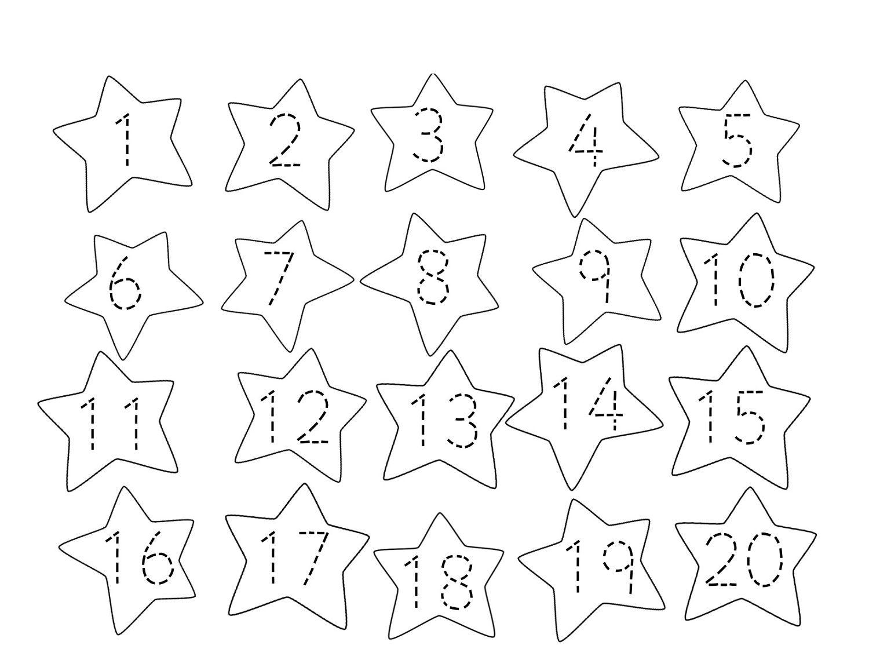 Numbers 1 20 Worksheets Free