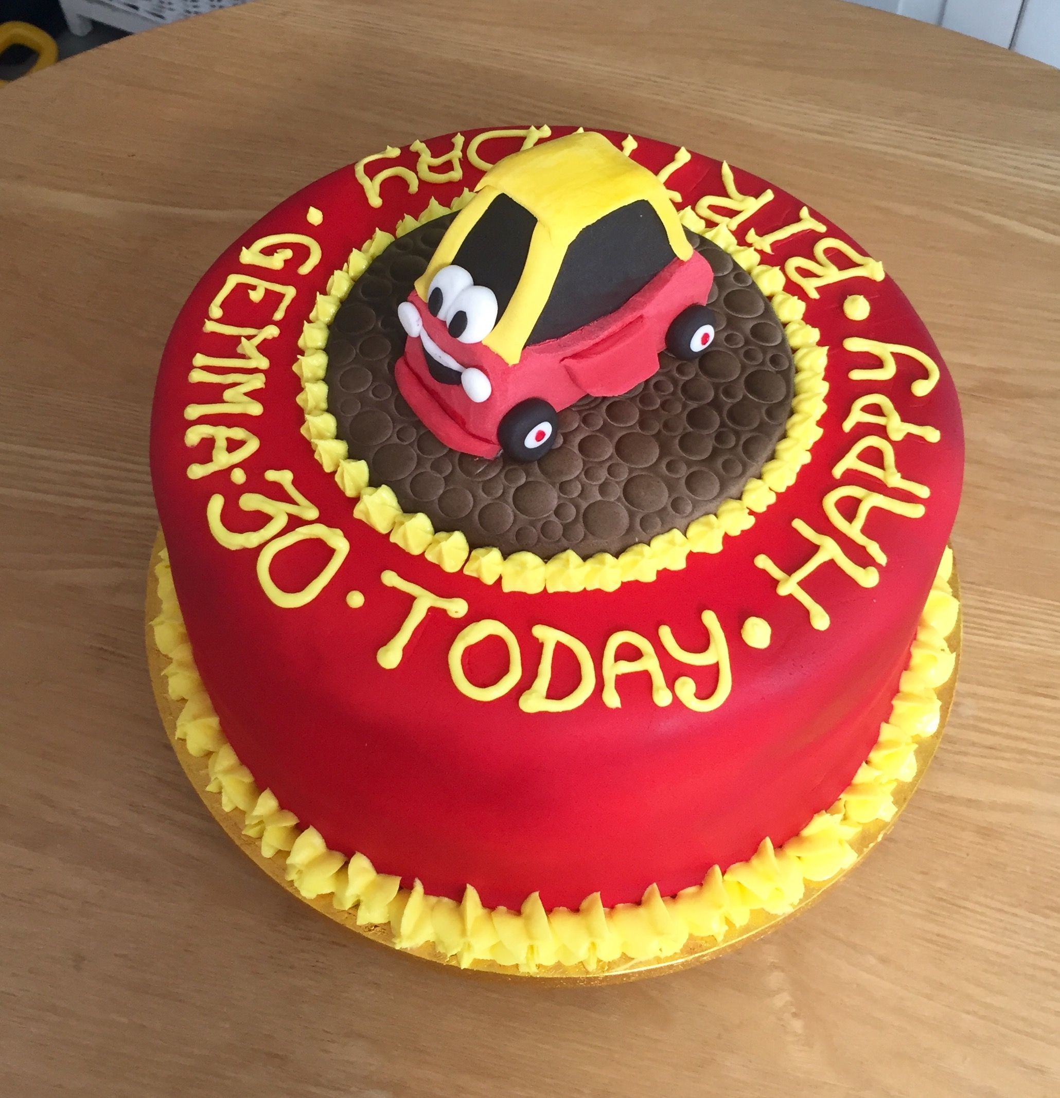 Cosy Coupe Little Tikes Car Cake