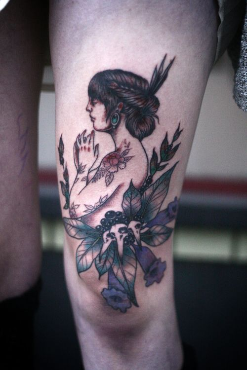 francesca lia block inspired thigh piece. by alice carrier at ...