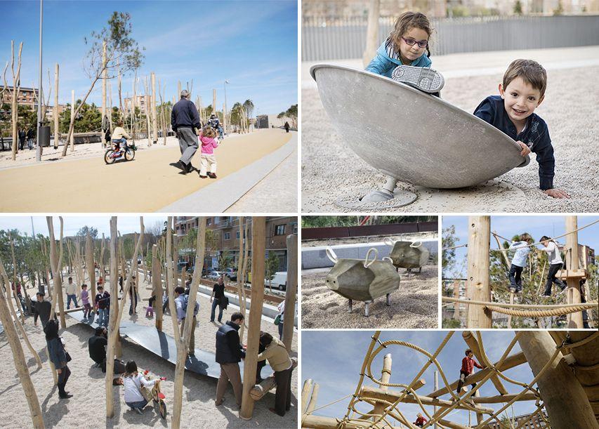 Bdu - Parque Salón de Pinos, Madrid #bdu #juegos #juegosinfantiles ...