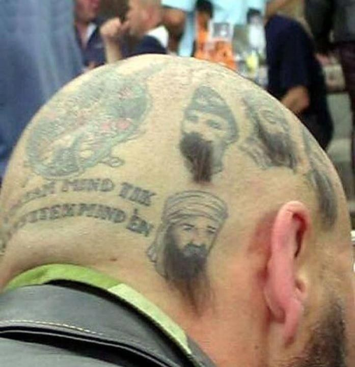 If I ever decide to get a tat on my head/haircut...it would look like this