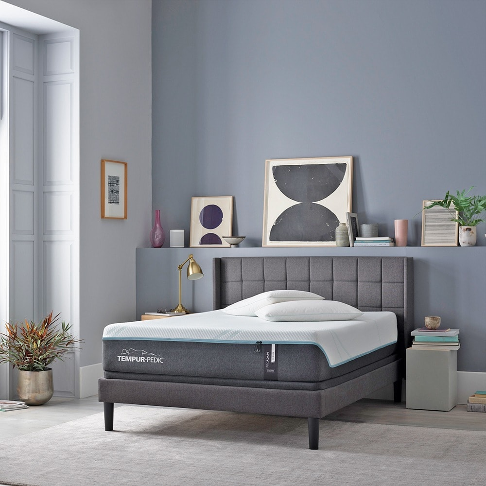 Tempur Proadapt 12 Inch Mattress And Ergo Adjustable Bed Set With