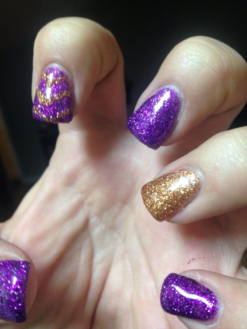 #GelNails #Glitter #DIY #HardGel #GelManicure #NailArt #BlueSkyTopCoat