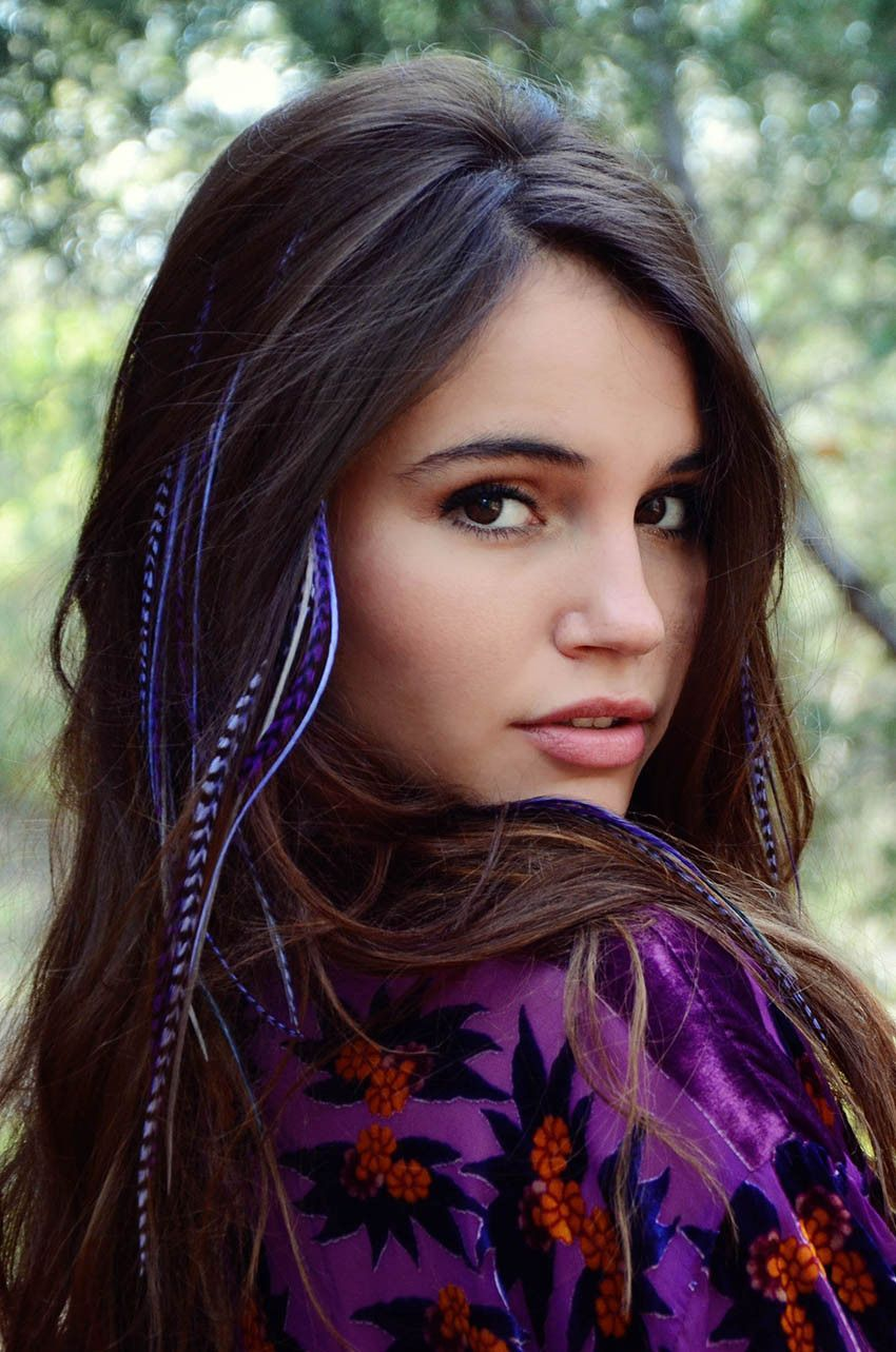 Original Feather Hair Extensions Pinterest Feathered Hair