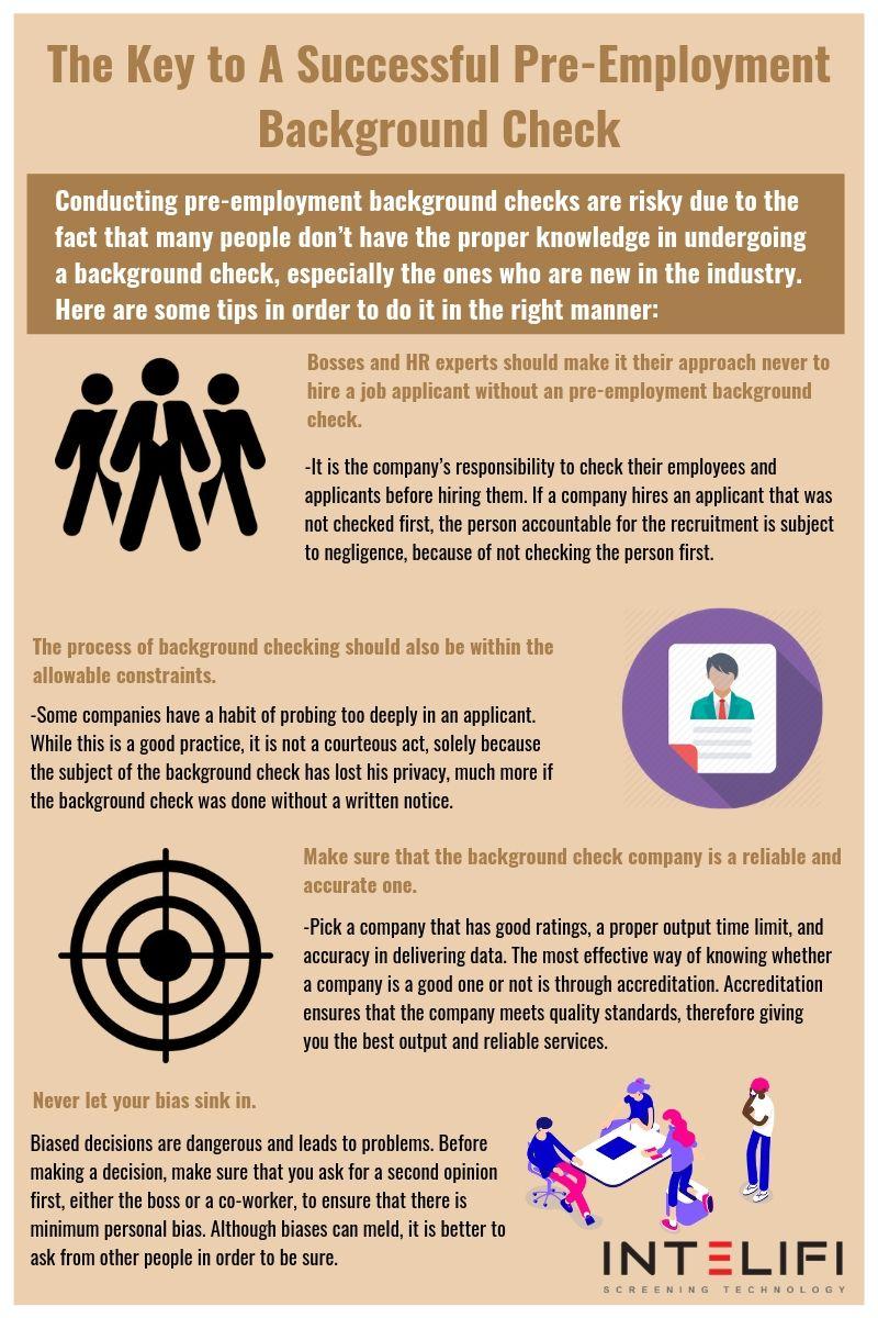 What do background checks show?