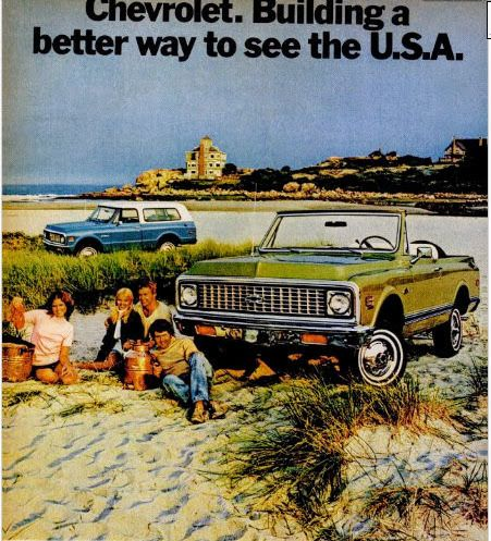 Good Harbor Beach Inspires 1972 Chevrolet Blazer Building A Better Way To See The Usa Tagline Harbor Beach Chevrolet Chevrolet Blazer