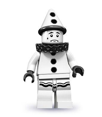 LEGO Series 10  SAD CLOWN Minifigure  New Set 71001  minfig