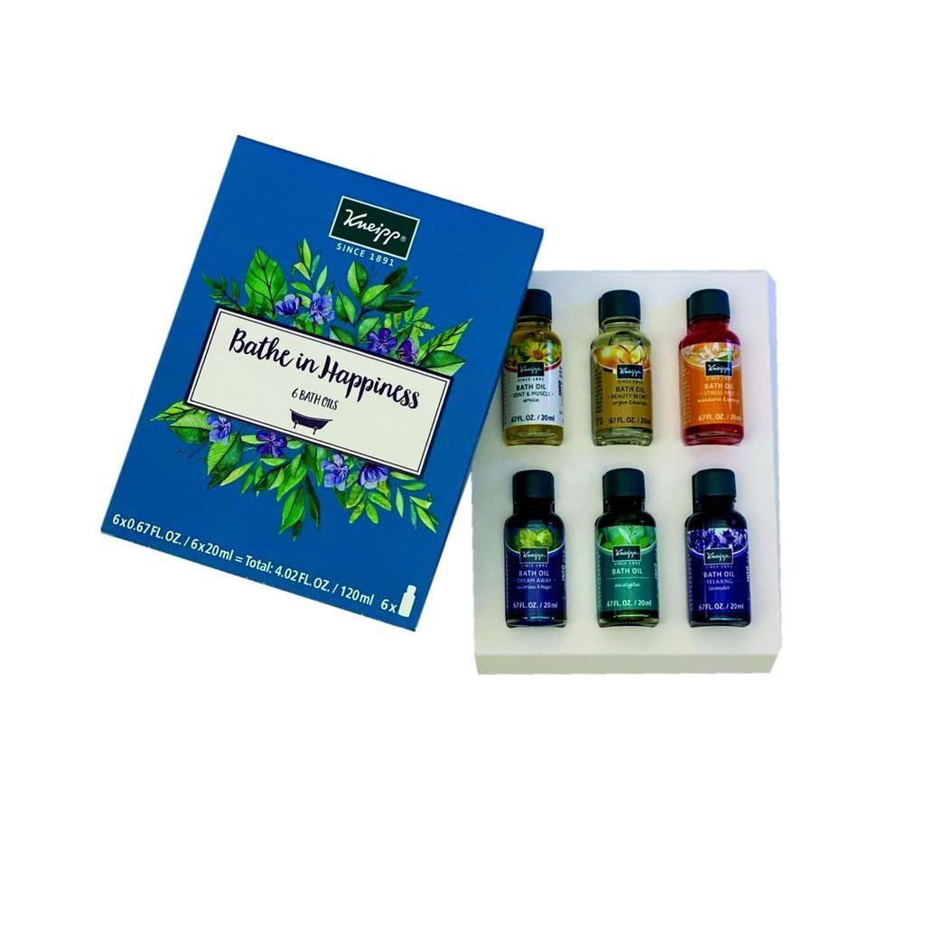 Kneipp Bathe In Happiness Bath Oil Set 6pc In 2020 Bath Oils Herbal Bath Skin So Soft