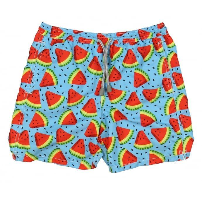 b6bbfaf5d8 MC 2 Saint Barth Boys Watermelon Print Shorts. Now available at  www.chocolateclothing.co.uk