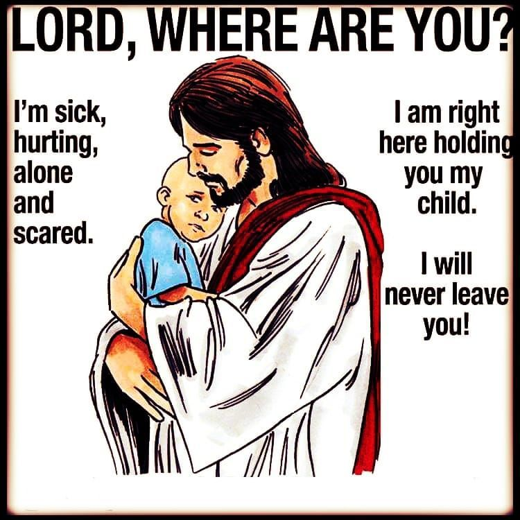 Jesus Will Never leave you