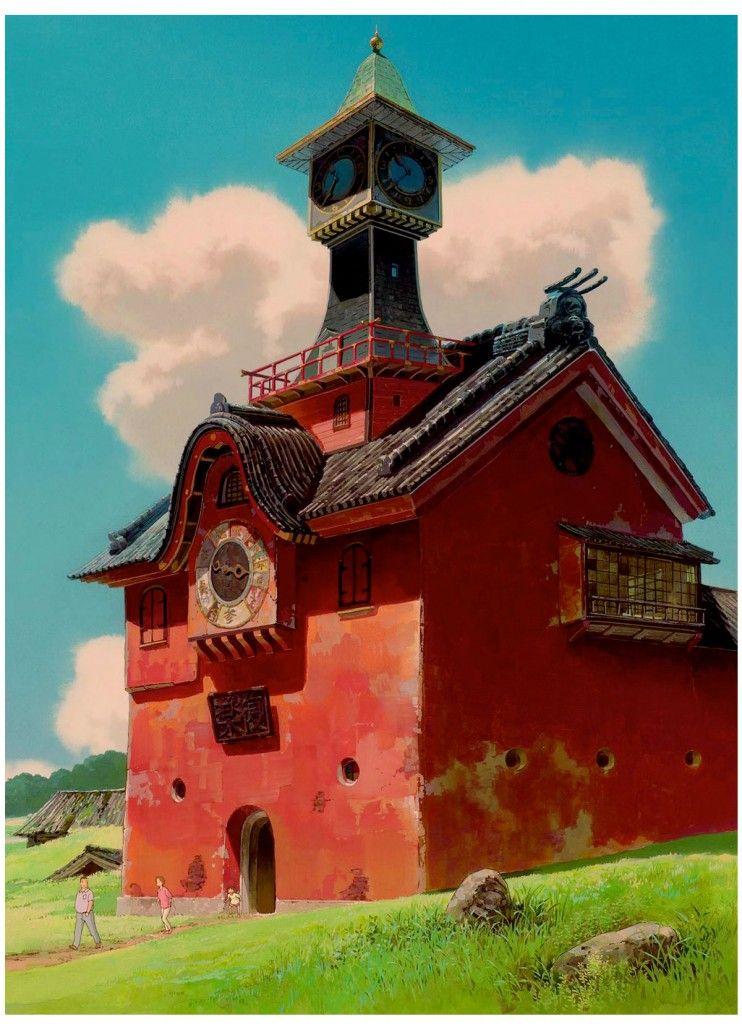 Some Ghibli's Backgrounds Studio ghibli, Studio ghibli