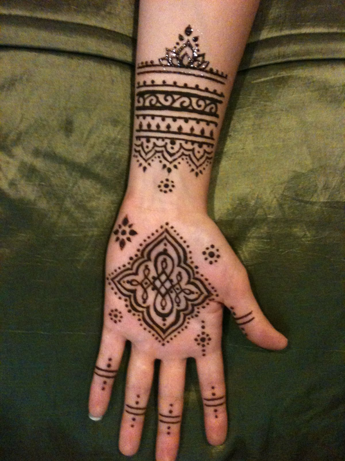 Henna Tattoo Vancouver Bc : Henna done by hennakim my style hennas and tattoo