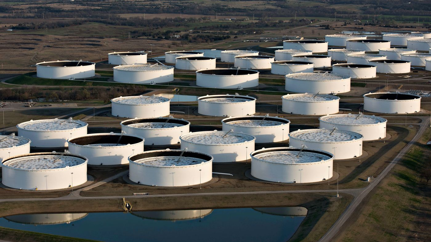 With So Much Oil Flowing U S May Be Reaching Storage Limits