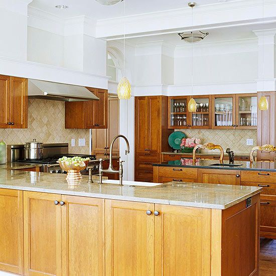 Kitchen Granite Color Combinations: Beautiful Kitchens With Natural Colors