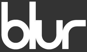Blur band logo
