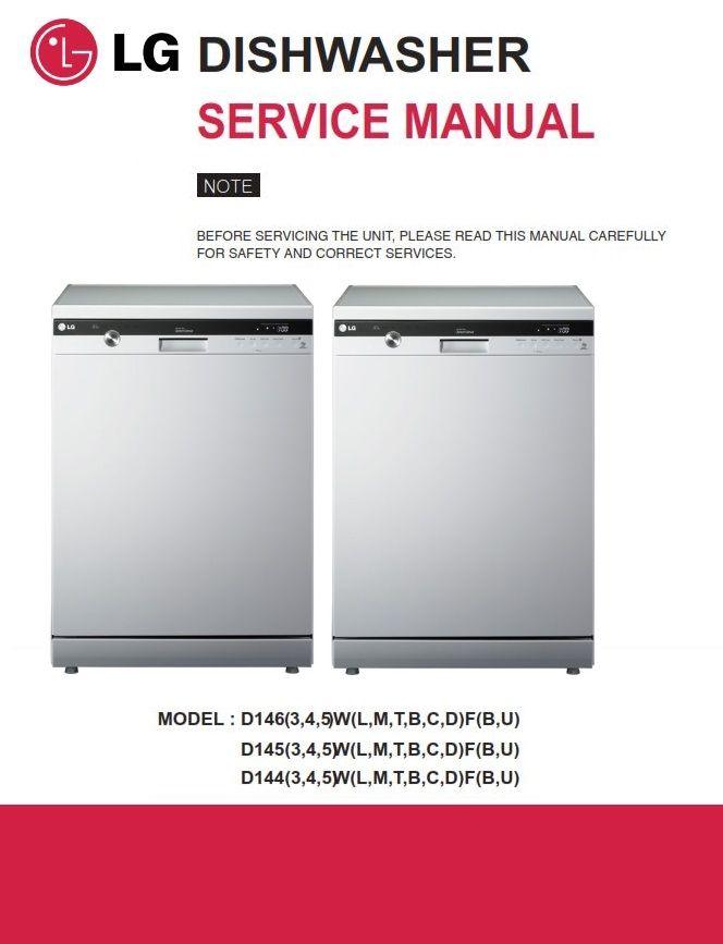 Kitchenaid Dishwasher Diagnostic U0026 Repair Manual Guide