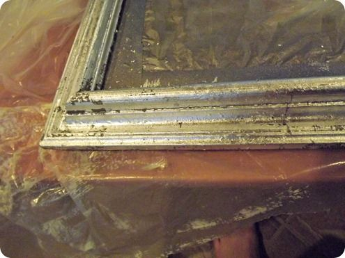 Antique Silver Leaf Frame: I want my Paris Canvas painting framed ...