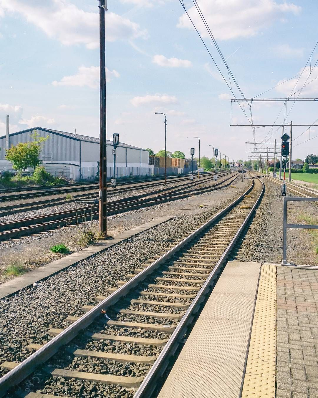 Feiertag ----- #analog #sun #sonne #colors #warm #farben #train ...
