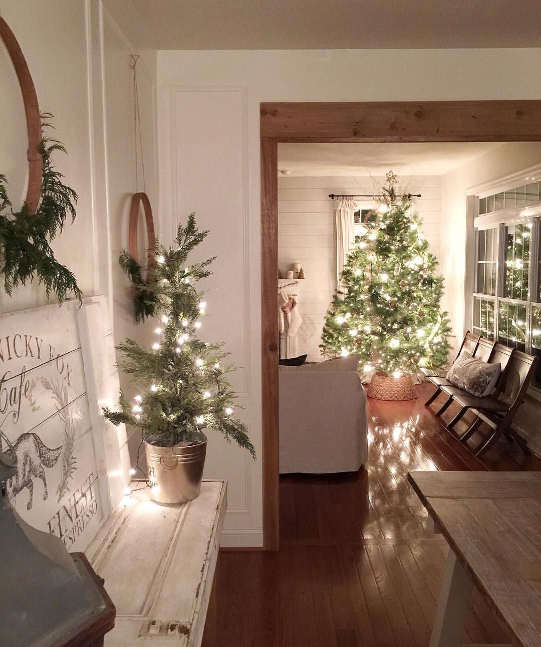 1,548 Likes, 47 Comments   Laura (@the.simple.farmhouse) On. White ChristmasCozy  ChristmasHello DecemberXmas TreesChristmas ...