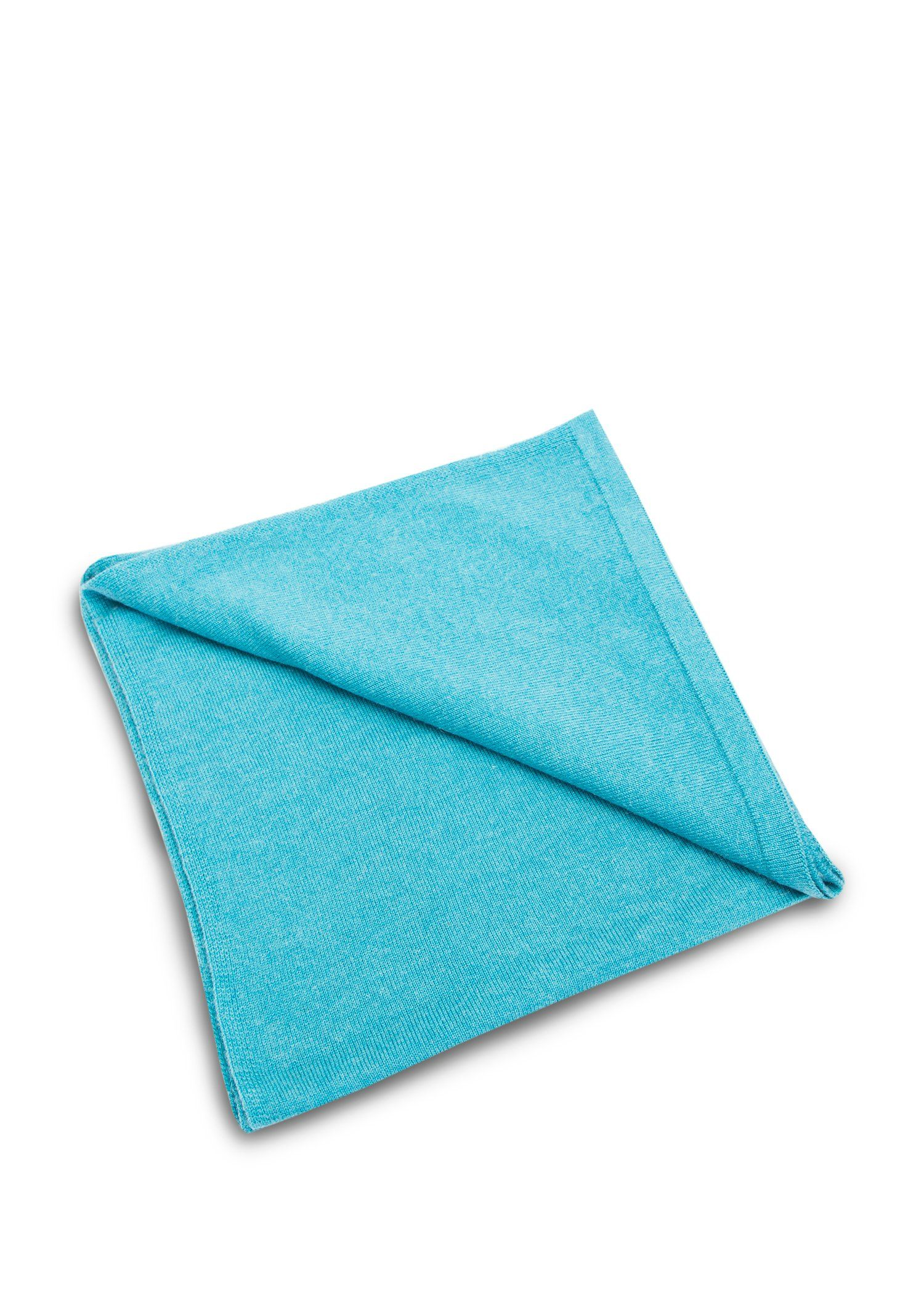 Turquoise Wool Cashmere