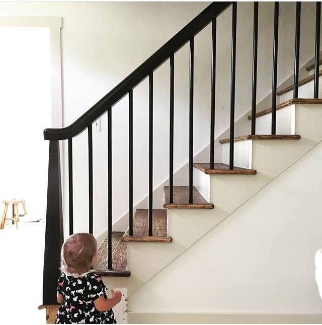 Stair Design With Basic Stuff From Lowes 4X4 Tapered Basic Hand   Lowes Wood Stair Railing   Stair Parts   Deck Stairs   Baluster   Stair Tread   Porch
