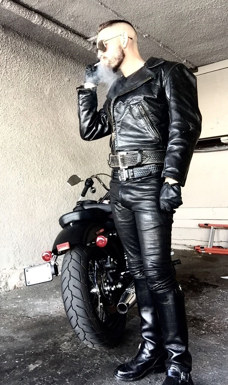 masters alpha leather photo menleather and moto pinterest masters leather and man style. Black Bedroom Furniture Sets. Home Design Ideas