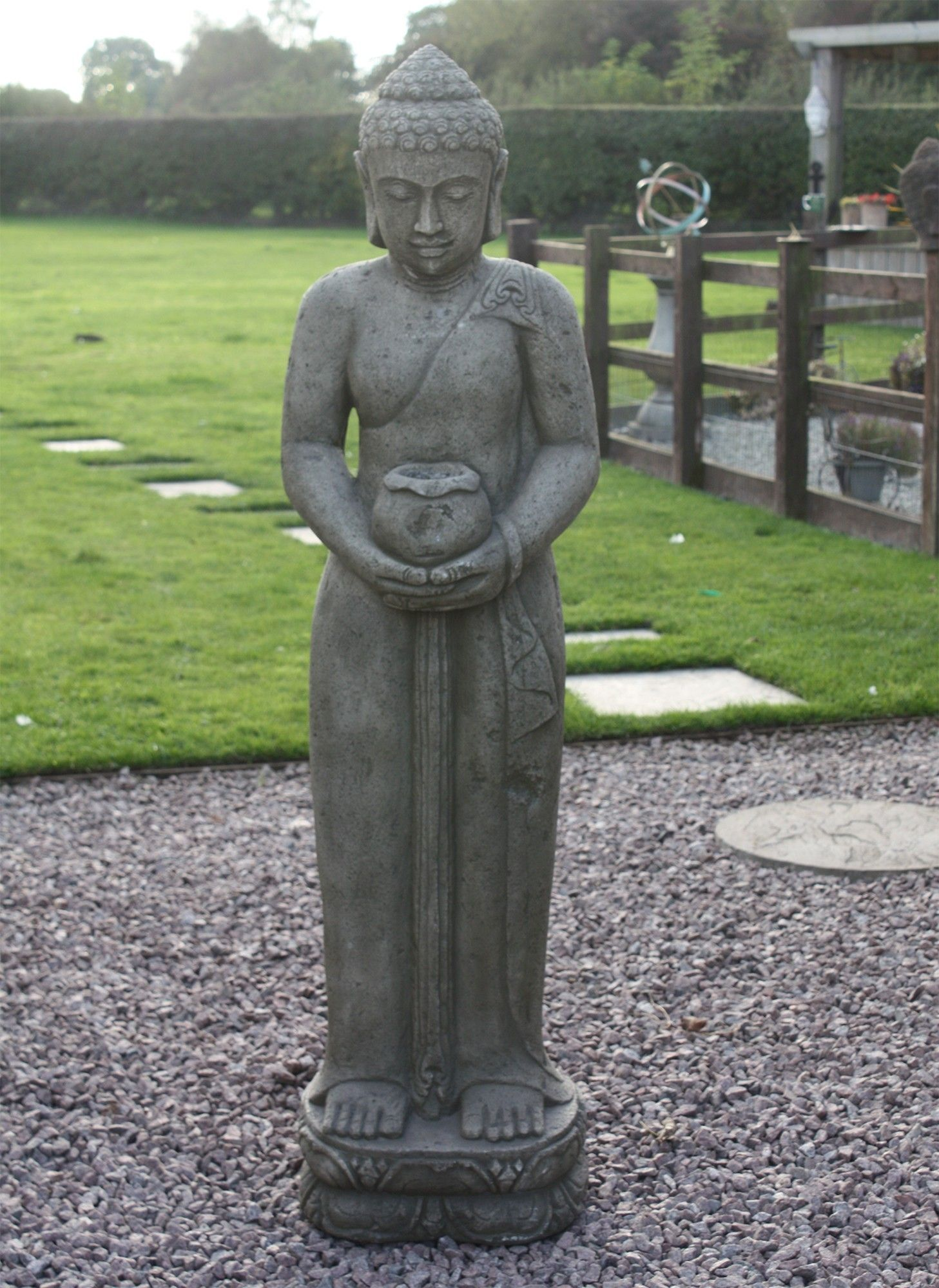 Contemplation Standing Buddha Statue   Garden Ornament. Buy Now At  Http://www