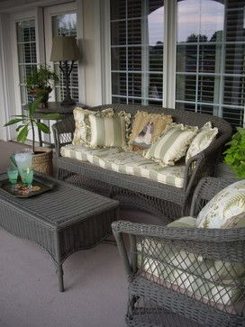 Painted Wicker Design Ideas Pictures Remodel And Decor