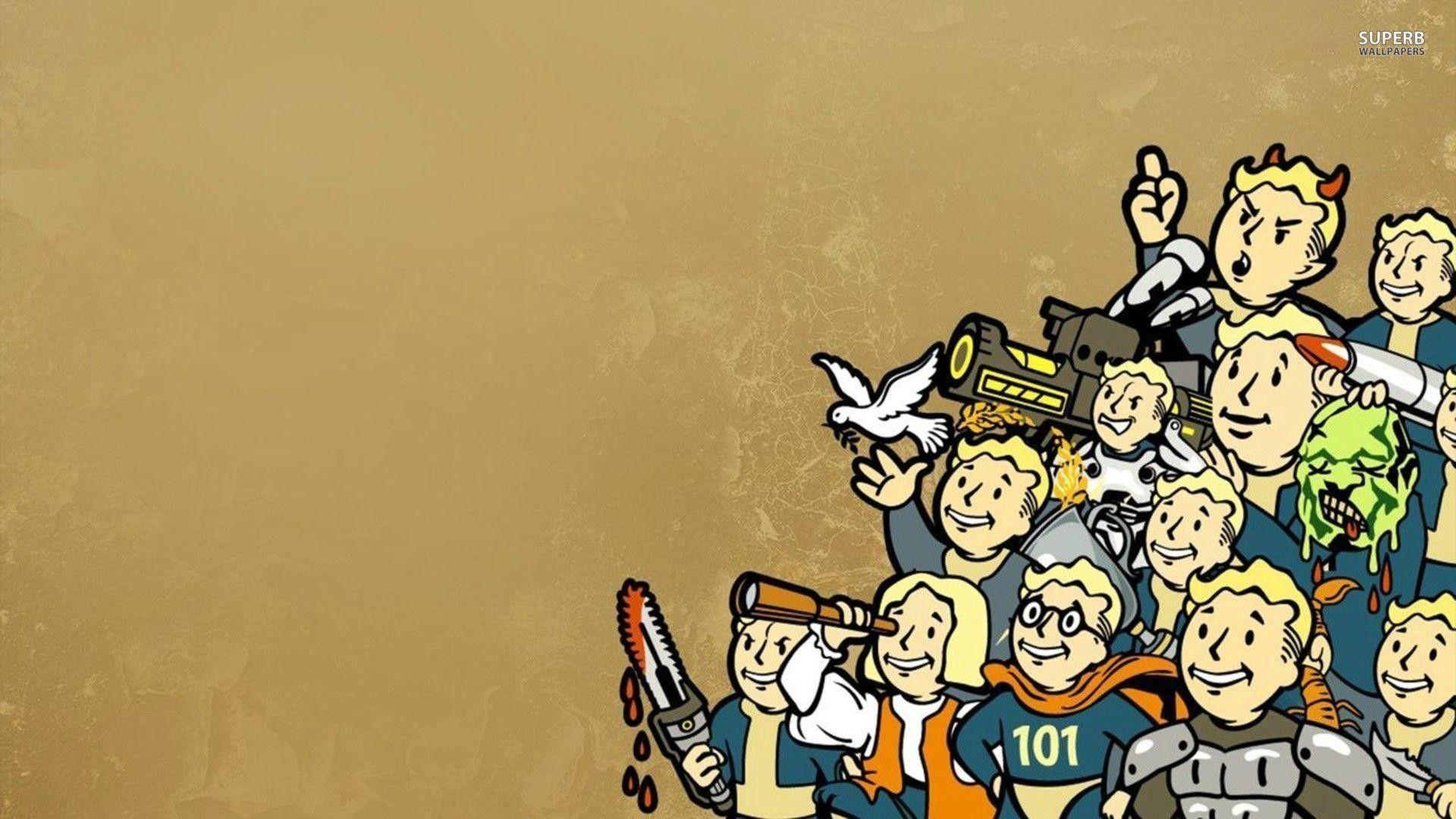 1920x1080 Vault Boy Fallout wallpaper Game wallpapers