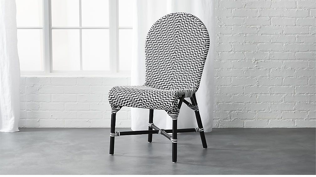 Introducing The Germain Chairnice French Bistro Feel To A Black Inspiration White Kitchen Chairs Design Ideas