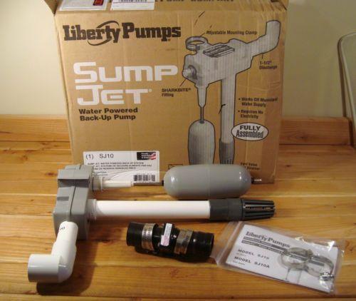 Liberty Pumps SJ10 SumpJet Water Powered Back-Up Pump