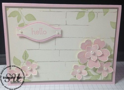 Flower Shop and Petite Petals Punched Card | Josee Smuck | Bloglovin'