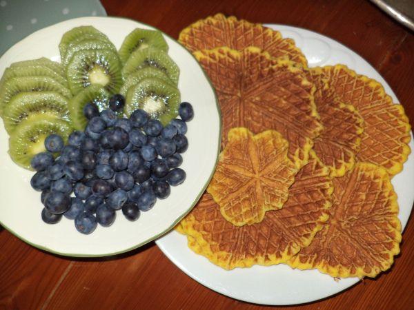 Protein vaffler